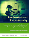 Preservation and Proportionality